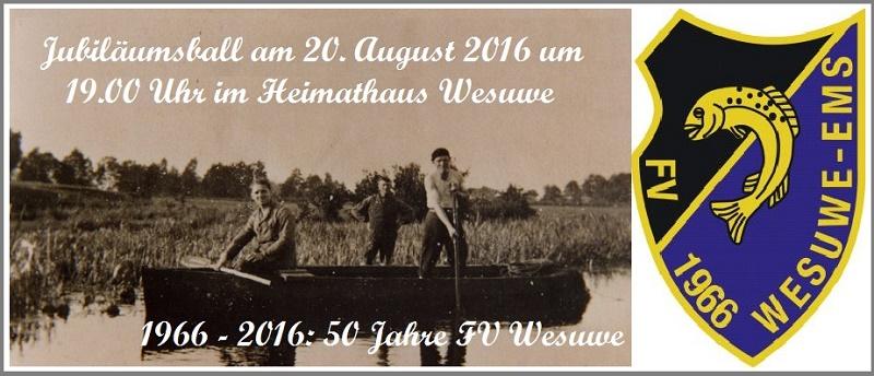50 Jahre Fischereiverein Wesuwe e.V.